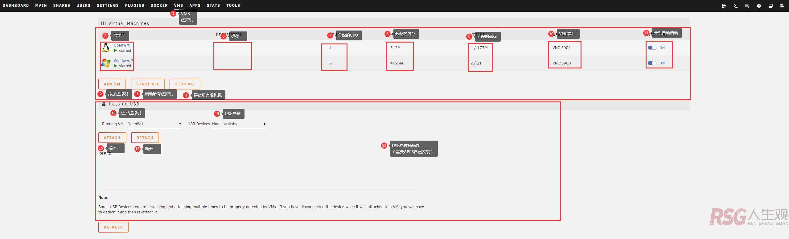 unRAID 从零到上手 (VMS虚拟机) unRAID-新手教程 第1张